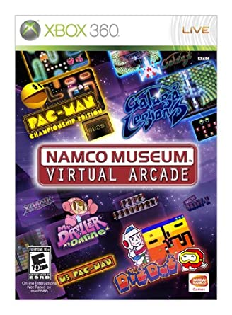 Namco Bandai Games Museum Virtual Arcade, Xbox 360 - Juego (Xbox 360, Xbox 360, Arcada, T (Teen)): Amazon.es: Videojuegos