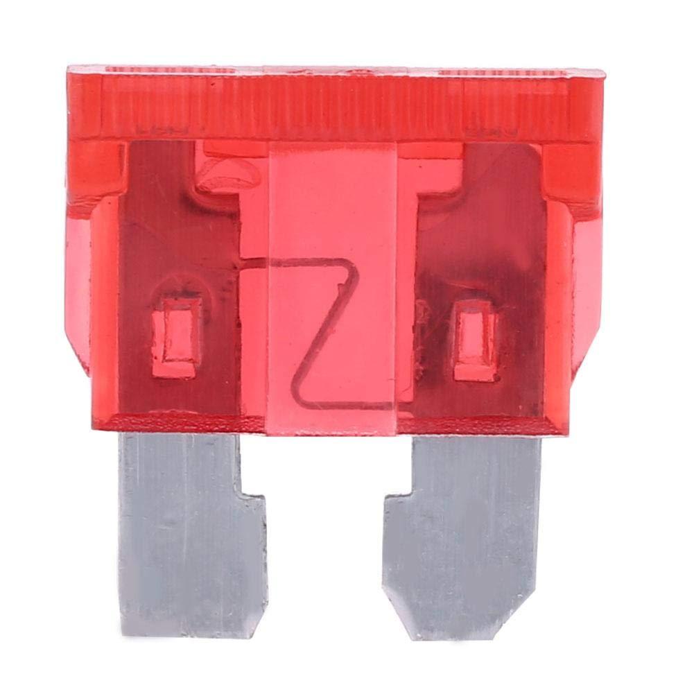 EBTOOLS Kfz Sicherungshalter 12 Volt 6 Weg Auto Sicherung Box Blade Fuse Box Autosicherung mit LED Warnung Beleuchtungssatz f/ür Auto Boat Marine Trike 32V