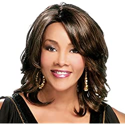 Vivica A. Fox AUTUMN-V Synthetic Fiber, PS Cap Wig in Color FS1B30