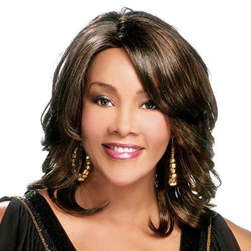 Vivica A. Fox AUTUMN-V Synthetic Fiber, PS Cap Wig in Color FS430 ()