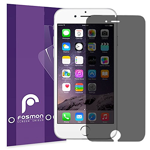 Shadow Protector (iPhone 6 Plus Privacy Screen Protector - Fosmon [Anti-Spy] Screen Shield for Apple iPhone 6 Plus / iPhone 6s Plus)