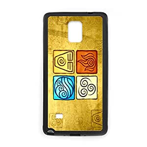 Generic Cases Quality For Galaxy Note 4 Samsung Silica Gel With Avatar The Last Airbender Boy
