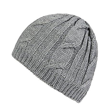 476ec323789 Sealskinz Waterproof Cable Knit Beanie Hat Blue  Amazon.co.uk  Sports    Outdoors
