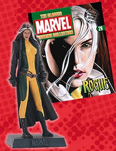 artículos novedosos - Figura de Plomo Marvel Figurine Collection Nº Nº Nº 29 Rogue
