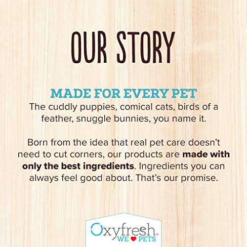 Oxyfresh Premium Pet Dental Care Solution (16oz): Best Way To Eliminate Bad Dog Breath & Cat Breath - Fights Tartar, Plaque & Gum Disease! - So easy, just add to water! Vet Recommended! by Oxyfresh (Image #5)