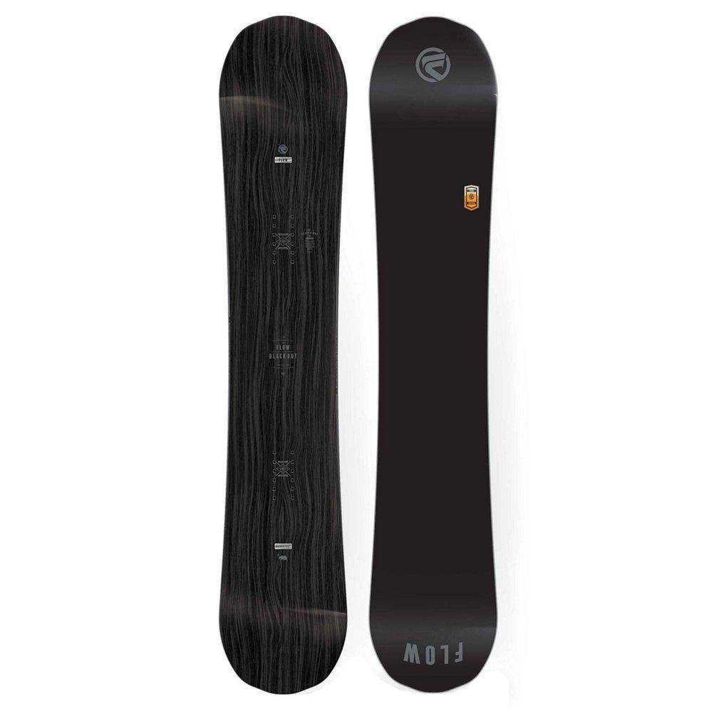 flow - Planche De Snowboard Blackout Noir Homme - Homme - Noir