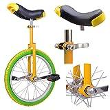 18 inch Wheel Unicycle Lemon