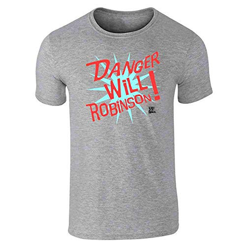 Danger Will Robinson! Lost in Space Gray XL Short Sleeve ()