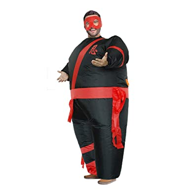 Amazon.com: Ninja Inflatable Giant Costume Halloween ...