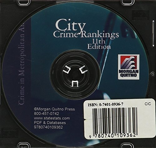 City Crime Ranking Rankings -databases And Pdf: Crime In Metropolitan America by Morgan Quitno Corp