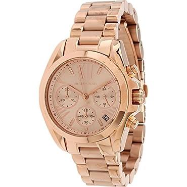 Michael Kors Women's Bradshaw Rose Gold-Tone Watch MK5799