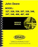 John Deere 347 Square Baler Service Manual