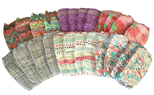 Honest Diapers for Girls Variety Pack - Size Newborn - Up to 10 Lbs. (24 Count) - Baby Shower Gift