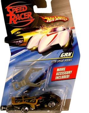 Speed Racer 1:64 Die Cast Hot Wheels Car GRX with Spear Hooks