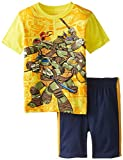 Boys' T-Shirtnage Mutant Ninja Turtles Short-Sleeve T-Shirt and Coordinating Short Two-Piece Set