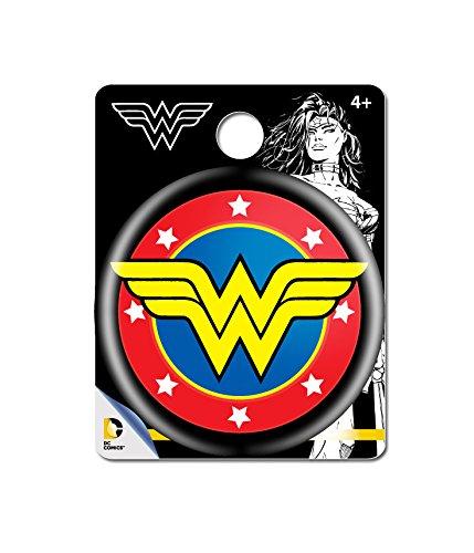 DC Comics Wonder Woman Logo Single Button Pin Action Figure