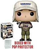 Funko Pop! Movies: Alien Covenant - David (Rugged Gear) Vinyl Figure (Bundled with Pop BOX PROTECTOR CASE)