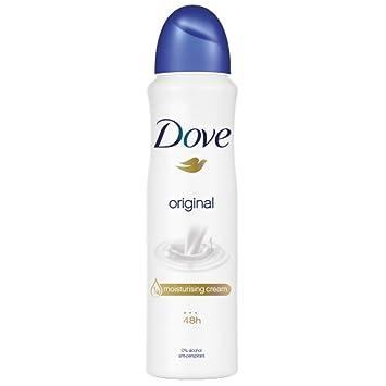 Amazon Com Dove Original Aerosol Antiperspirant Deodorant 150ml Pack Of 3 Beauty