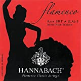Hannabach Strings for classical guitar Series 827 Super High Tension Flamenco classic Set of 3 treble