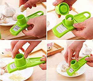 Alice Windowshop Garlic Ginger Grinding Tool Multi Functional Kitchen Device Green