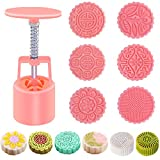 Father.son cake tools cake mould cake mold China's Mid-Autumn Festival Moon cake mold DIY tools set (tradition of 6 100g)
