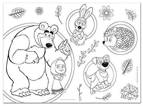Lisciani Giochi 48540 Masha E Orso Smile And Play Puzzle Doppia