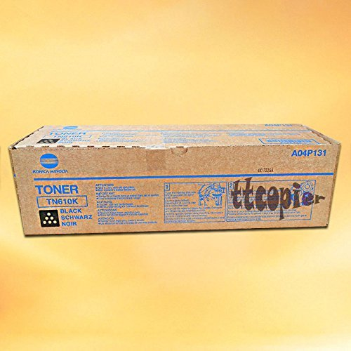 Price comparison product image Konica Minolta bizhub Pro C6500 Black Toner TN610BK 35000 YIELD - Genuine OEM toner