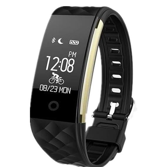 Pulsera Inteligente,S2,Fitness Tracker con Pulsómetros,Cronómetro ...