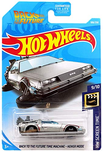 Machine Future - Hot Wheels 2019 HW Screen Time Back to The Future Time Machine Hover Mode 108/250