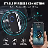 [2021 Upgraded] COMSOON Bluetooth 5.0 Receiver for