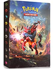 Pokemon Trading Card Protector Sleeves Trading Card Album Binder Collectible Card Albums Storage 240 Card (Incineroar)