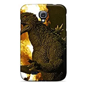 Hot PaOXeOC5341QzSRB Godzilla Tpu Case Cover Compatible With Galaxy S4