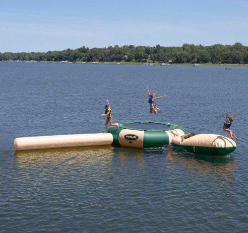 (RAVE Sports Northwood's Aqua Jump Eclipse 15' Water Park)