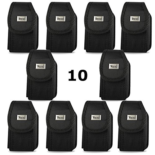 Contractor Pack of 10 Rugged Heavy Duty Cases with Metal Clip and Belt Loop for Kyocera Dura XA, Dura XV. ()