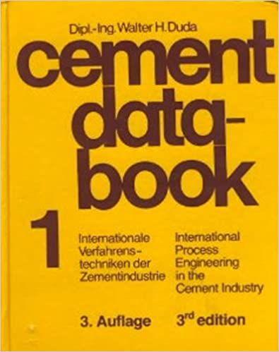 Amazon cement data book volume one international process cement data book volume one international process engineering in the cement industry 3rd edition fandeluxe Gallery