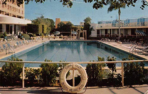 Beverly Hills California Beverly Wilshire Copa Club Swimming Pool PC J81039 ()