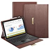 Surface Pro 4 Case, ESR Intelligent Series Folio Stand Case [Buckler for Secure Closure][Compatible with Surface Pro 4 Type ][Built-in Stand with Multiple viewing Angles]for Surface Pro 4_Brown