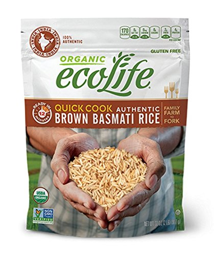 quick cook organic brown rice - 4
