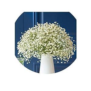 Little-Lucky Dried Flowers vase Suit Gypsophila Everlasting Flower Home Living Room furnishings Decorative Flower Arrangement 95