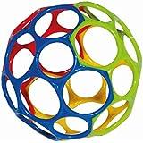 Rhino Toys Oball Original, Yellow/Blue/Red/Green