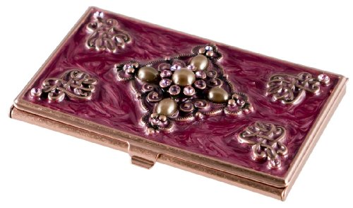 Visol Products Alameda Crystals on Copper Women's Busines...