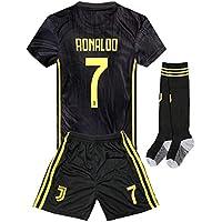 2018-2019 Away C Ronaldo #7 Juventus Kids Youth Soccer...