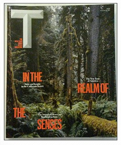 The New york Times Style Magazine - November 12, 2017 - In the Realm of the Senses