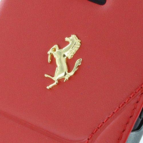 Ferrari - 488 Gold FESEGFLBKP7RE - Leather Book Cover / Book Case - Apple iPhone 7