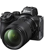 كاميرا ديجيتال نيكون Z 5 غير عاكسة بعدسات 24-200 ملم