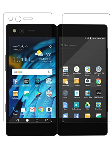 ZTE Axon M Screen Protector, TopACE Premium Quality Tempered Glass 0.3mm Film for ZTE Axon M (2 Pack)