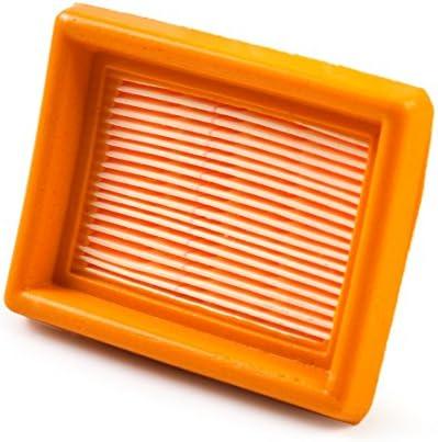 Vergaser Luftfilter Ersatz Motorluftfilter f/ür STIHL Trimmer FS120 FS200 FS200 FS300 FS350 MM55