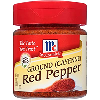 McCormick Ground (Cayenne) Red Pepper, 1 oz from McCormick & Co