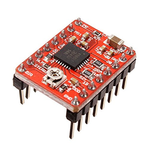 3D Printer & Supplies - 3D Printer Module Board - 5Pcs Ochoos 3D Printer A4988 Reprap Stepping Stepper Step Motor Driver Module by OCHOOS