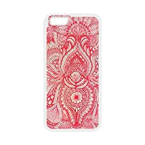 Red CUSTOM Cover Case Iphone 5/5S